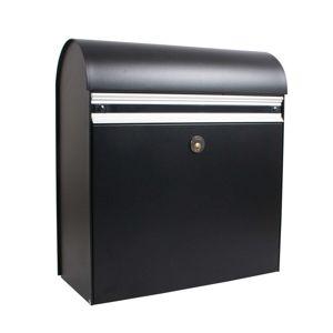 Masívna poštová schránka KS200, čierna