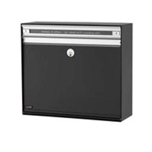 Praktická poštová schránka SC135, čierna