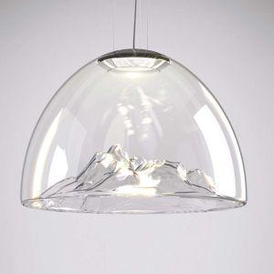 Axo Light Axolight Mountain View LED závesné svetlo číre