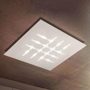 Pattern – štvorcové stropné LED svetlo, biele