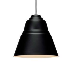 Závesná lampa Relief s kovovým tienidlom