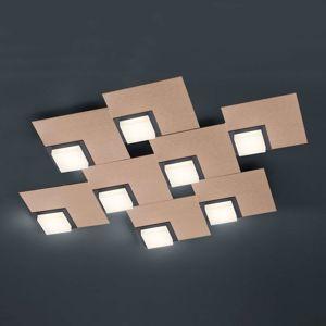BANKAMP Quadro stropné LED 64W, ružové zlato