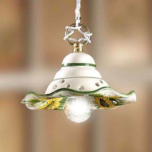 Malá závesná lampa GIRASOLA šarm vidieckeho domu