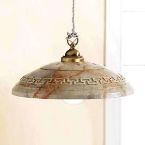 Závesná lampa GRECA MARMO