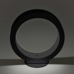 Cini&Nils Assolo – stolná LED lampa čierna, 20cm