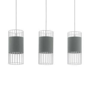 Závesná lampa Norumbega tri klietkové tienidlá