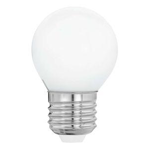LED žiarovka E27 G45 4W teplá biela, opál
