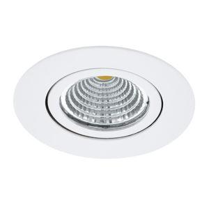 EGLO Zapustené LED Saliceto okrúhle otočné 2700K biela