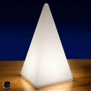 Vonkajšia dekoračná LED Pyramída s batériou 54 cm