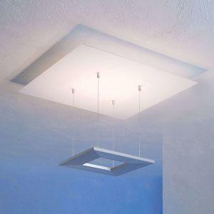 Escale Zen stropné LED svietidlo, 60cm, hliník