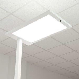 Stojaca lampa LED Almira so stmievačom, biela