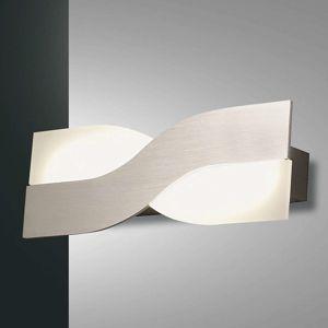 Nástenné LED svietidlo Riace 30 cm, hliník