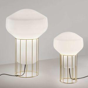 Fabbian Aérostat – mosadzná stolná lampa