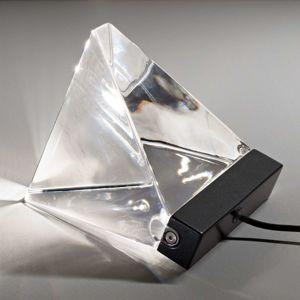 Fabbian Tripla – stolná lampa LED, antracit