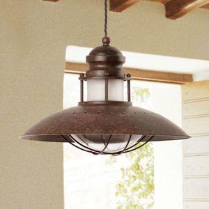 Dekoratívna závesná lampa Winch