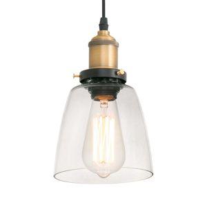Priehľadná závesná lampa LIZ II