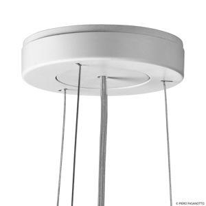 FLOS FLOS KTribe S3 závesná lampa, dymová sivá