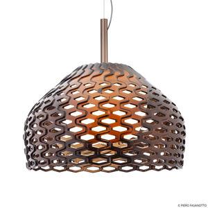 FLOS FLOS Tatou S2 závesná lampa, okrovo-sivá