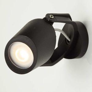 Vonkajšie nástenné svetlo Minitommy v čiernom