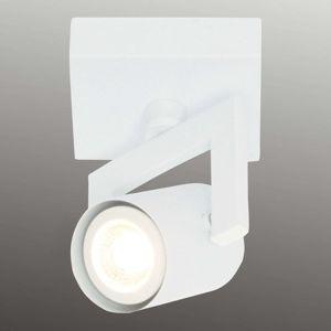Biele stropné svietidlo ValvoLED, 1-plameňové