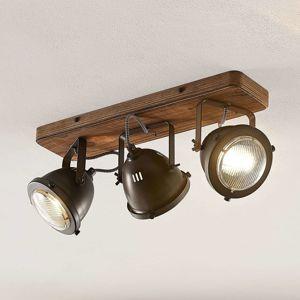 Lindby Shila stropné svietidlo, svetlomet, 3-pl.