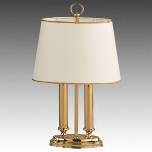 Exkluzívna stolná lampa Queen mini, mosadz