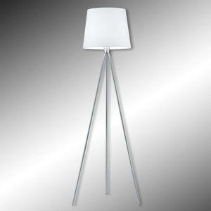 Trojnohá stojaca lampa Pico, chróm