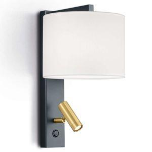Nástenné svietidlo Mila s LED svetlom na čítanie