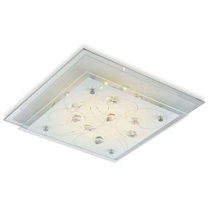 Štvorcové stropné svietidlo Eline 33,5cm