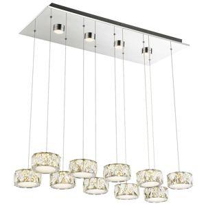 10-pl. LED svietidlo Amur – 4 doplnkové svetlá
