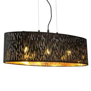 Závesná lampa Tuxon, oválna