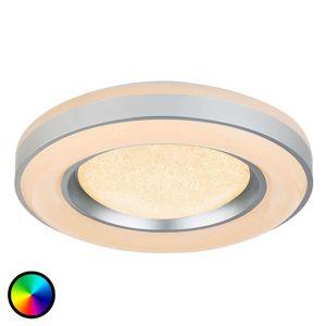 Diaľkovo ovládané stropné LED svietidlo Colla