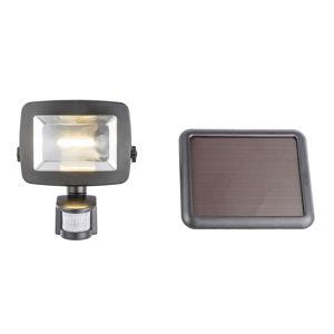 Globo Solárne LED svietidlo 37201S senzor čierne