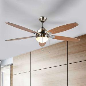 Osvetlený stropný ventilátor Levian