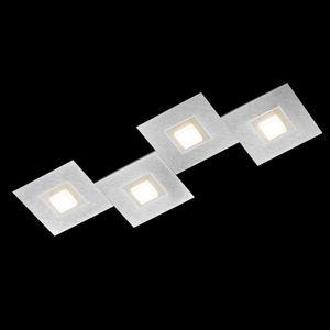 GROSSMANN Karree stropné LED svietidlo 4-plameňové