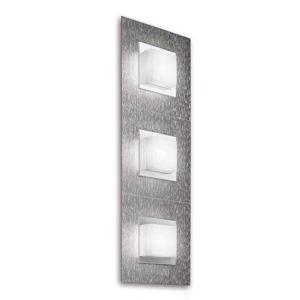 GROSSMANN Basic nástenné LED svietidlo 3-pl hliník
