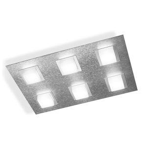 GROSSMANN Basic stropné LED svietidlo 6-pl. hliník