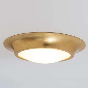 Zlaté keramické stropné svietidlo Spettacolo