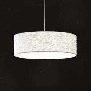 Holtkötter Vita P – biela závesná lampa 60cm