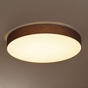 Hufnagel LED stropná lampa Luno s chintzovým tienidlom