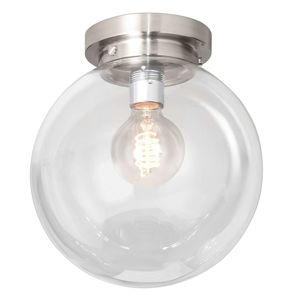 Globe stropné svietidlo s čírym guľovým tienidlom
