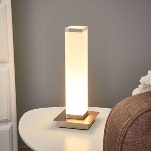 FISCHER & HONSEL Stĺpovité tienidlo na lampu stolná LED lampa Forma