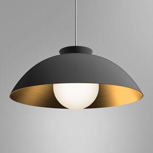 Innermost Innermost Chelsea - závesná lampa Ø 56cm čierna