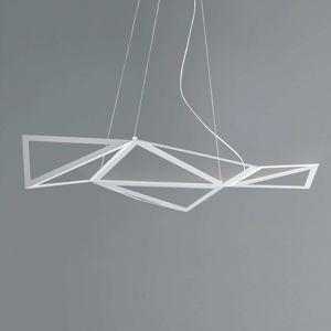 Závesné LED svietidlo Starlight v bielej