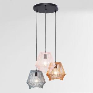 KARE KARE Ischia Spiral závesná lampa, Ø 50 cm