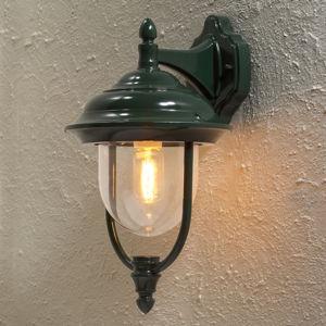 Konstmide Vonkajšie svietidlo Parma, lucerna visiaca zelené