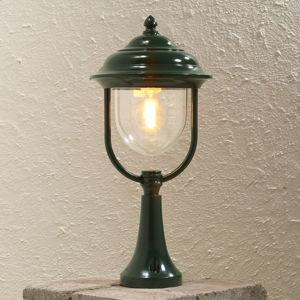 Konstmide Soklové svietidlo Parma, zelené