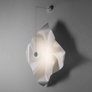 Knikerboker Crash nástenné LED biele štvorcové
