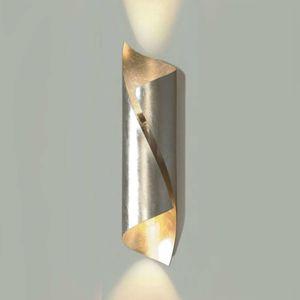Knikerboker Hué nástenné svietidlo 54cm striebro