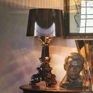 Kartell Kartell Bourgie – stolná LED lampa, čierna